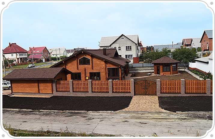 Деревянные дома из бруса в компании «Домус»