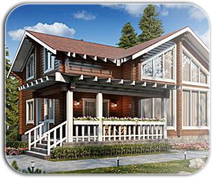 Строительство деревянных домов из бруса
