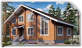 Двухэтажные дома из бруса, проекты и цены