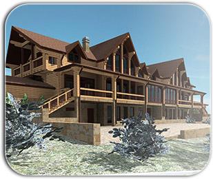 Строительство гостиниц и отелей из бруса
