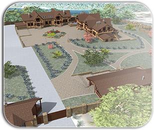 Строительство коммерческой недвижимости из бруса
