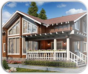 Строительство гостевых домов из бруса