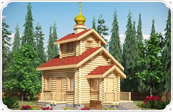 Церкви из бруса